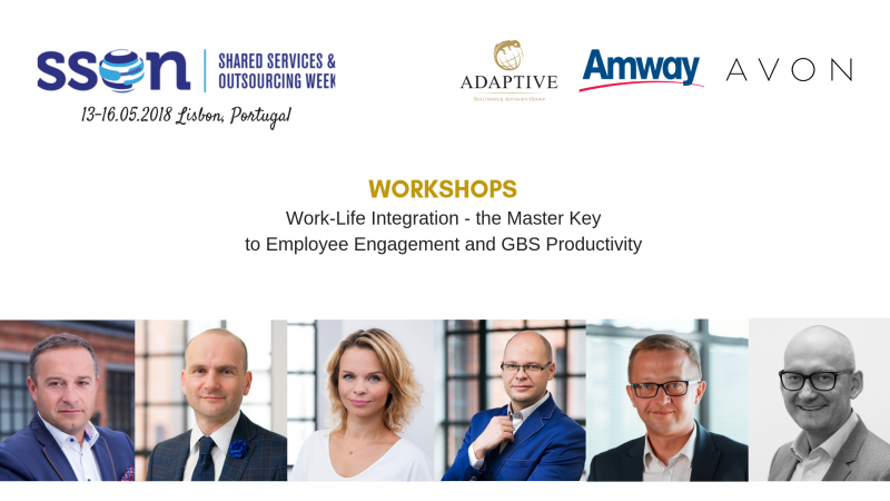 photo Workshops with Adaptive during Shared Services & Outsourcing Week in Lisbon