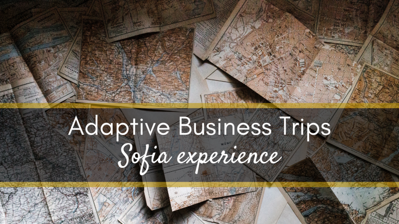 photo Adaptive Business Trips: Michał Ejchman sharing his Sofia experience