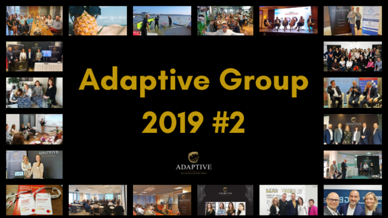photo Adaptive Group on the road: overview of the 2nd half of 2019