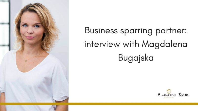 photo Business Sparring Partner: Interview with Magdalena Bugajska, Program Manager in Adaptive Group
