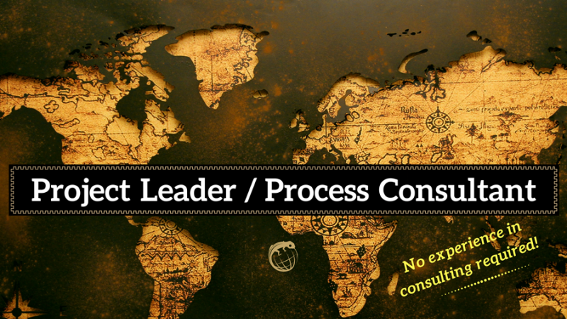 photo Job offer: Project Leader / Process Consultant